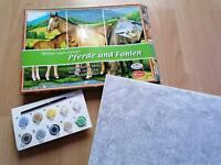 Malen nach Zahlen - Pferde und Fohlen Brandenburg - Teltow Vorschau