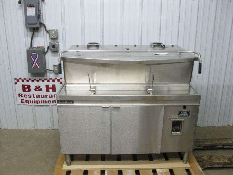 Market Forge 40 Gallon 480 V Electric Tilt Skillet Braising Pan