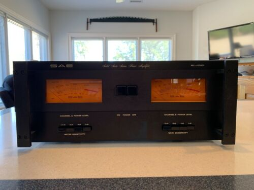 SAE 2400 Stereo Power Amplifier with 200 Watts/Channel *These are becoming RARE