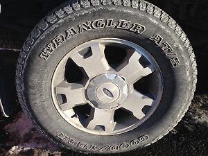 2010 f-150 275-65-r18 Rims and Tires