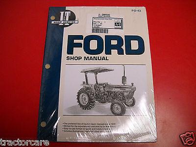 Ford Tractor It Shop Service Repair Overhaul Manual 2810 2910 3910 Fo43