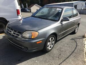 2004 accent only 111000 kms