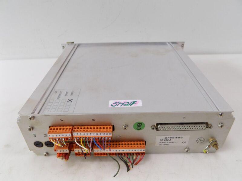 PRECITEC SC 800 A SERVO CONTROL P0800-100-00001