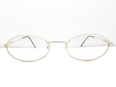 Fendissime F123 Gold Col. 804 Eyeglasses Eyewear FRAMES 49-19-140 TV6 80043A