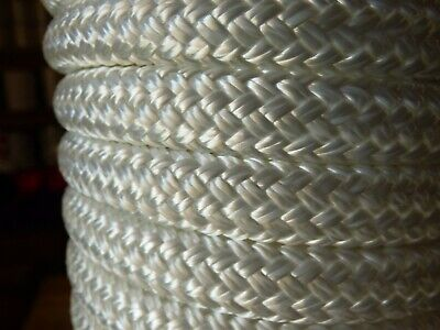 """2 Green Double Braided 1//2/"""" x 15/' ft Boat Marine HQ Dock Lines Mooring Ropes"""