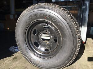 Landcruiser 100 series steel wheel rim and tyre Lismore Lismore Area Preview