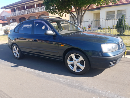 Hyundai elentra 2003 GL long rego 2nd owner low kms