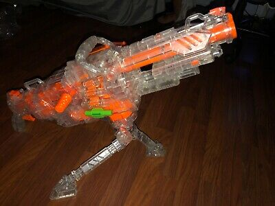 RARE NERF VULCAN CLEAR ( WITH ALL ACCESSORIES )
