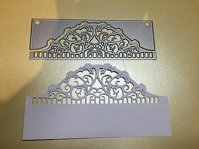 TONIC NOT JUST CHRISTMAS WISHES HEADER FOLD CUTTING & EMBOSSING DIES REDUCED!!!