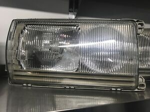 Phare Mercedes W123 300D 300CD euro headlights