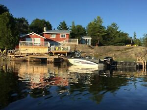 Deluxe Cottage Rental on the French River Ontario