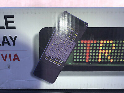 Pro-lite Programmable Color Electronic Sign Led Display Remote Beta Brite