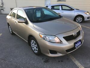 2009 Toyota Corolla | 108,000 kms | REDUCED $$$