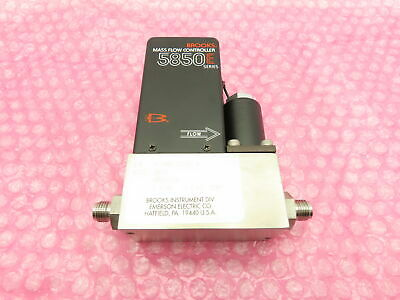 Brooks 5850e Mass Flow Controller Sensor Hydrogen 1 Slpm Card Edge Connector