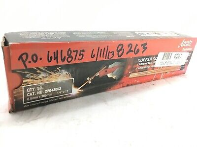Lot Of 2 Boxes--50 Ct Arcair 22043003 14 X 12 Welding Rod - New