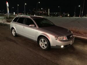 2003 Audi A4 Wagon 2.0L FWD with 75,000 kms