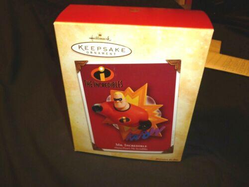 "2004 Hallmark Keepsake Ornament ""Mr. Incredible"" Disney/ Pixar"