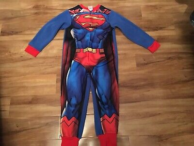 Boys superman dress up pyjama all in one new with tags age 5-6 years (Alltags Dress Up)