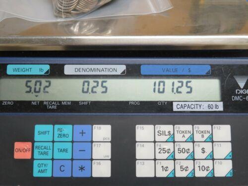 Digi DMC-688 Series Portable Coin Token Counting Scale Laundromat Arcade Vending