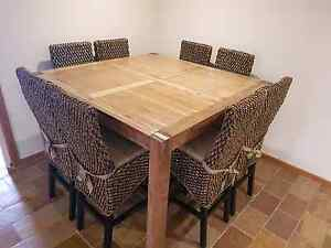 9 Piece Dining Table set Mill Park Whittlesea Area Preview