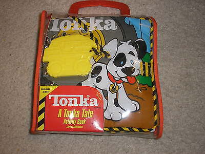 New Tonka A Tonka Tale Activity Book Cloth Fabric Book Ages 3 months and up