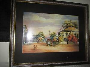 Darcy Doyle - Break in Play framed print Kelso Bathurst City Preview