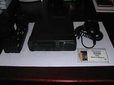 Motorola Xpr 4300 40 Watt Mototrbo Uhf Dmr Mobile Radio Aam27qnc9ja1an