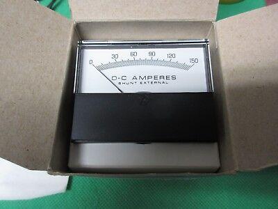 Yokogawa Paner Meter Dc Amperes 0-150