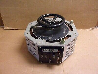 Superior Electric 1256d Powerstat Input 240v Output 0-280a
