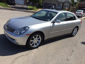 2003 Infiniti G35 only 94,000 original kms