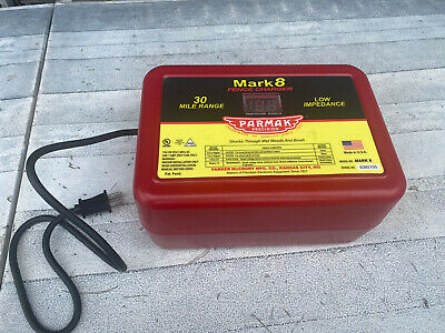Parmak Mark 8 Mark 8 Electric Fence Charger 30-mile For Parts Only Read