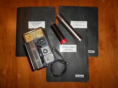 Bicron Analyst Geiger Counter Set Gm Probe G1 Scintillation Probe W Manuals