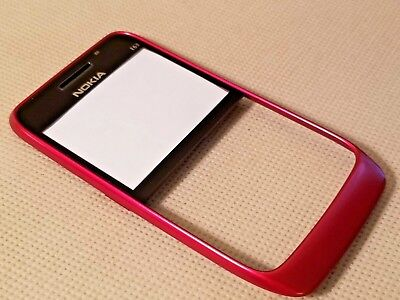 New Nokia OEM Front Faceplate Lens Housing for E63 - RED Oem Nokia Faceplate