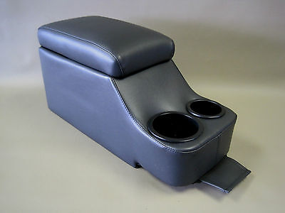 (Crown Victoria Deluxe Fully Upholstered Black Center Console P71 Police 96-2011)