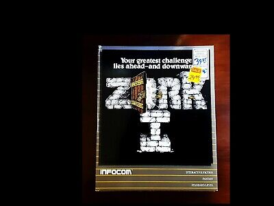 ZORK I (1): THE UNDERGROUND EMPIRE  Complete  400  800  Infocom (1984)  TESTED