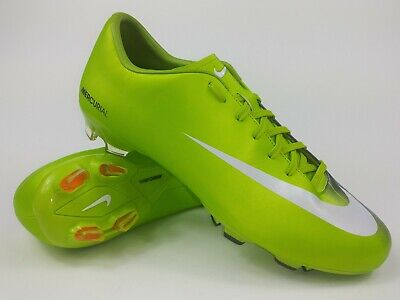 b980432b8 Nike Mens Rare Mercurial Victory FG 396121-311 Green Soccer Cleats Boots  Size 10