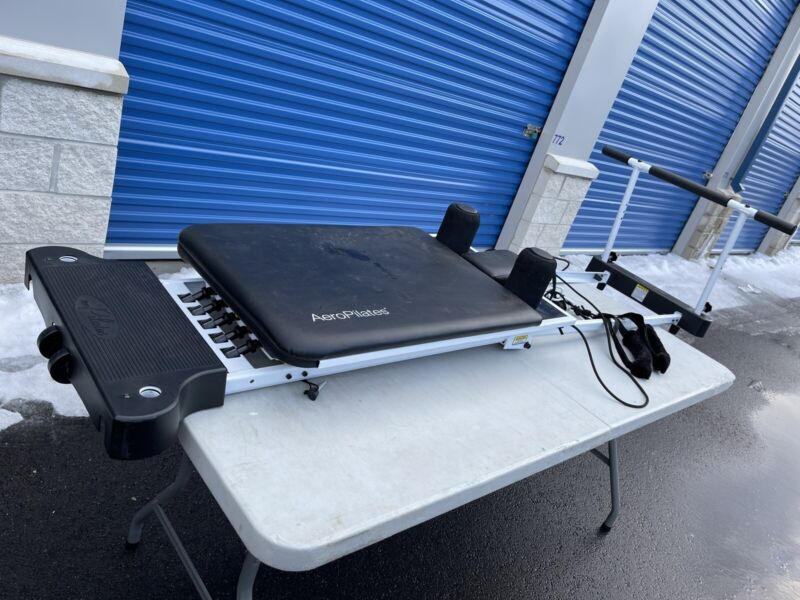 AeroPilates Plus Black White Stamina Pilates Reformer 5 Color Cords 5003 55-5003