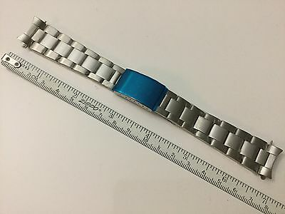 19MM SOLID OYSTER WATCH REPLACEMENT BAND BRACELET FOR ROLEX/TUDOR SHINEY LINK