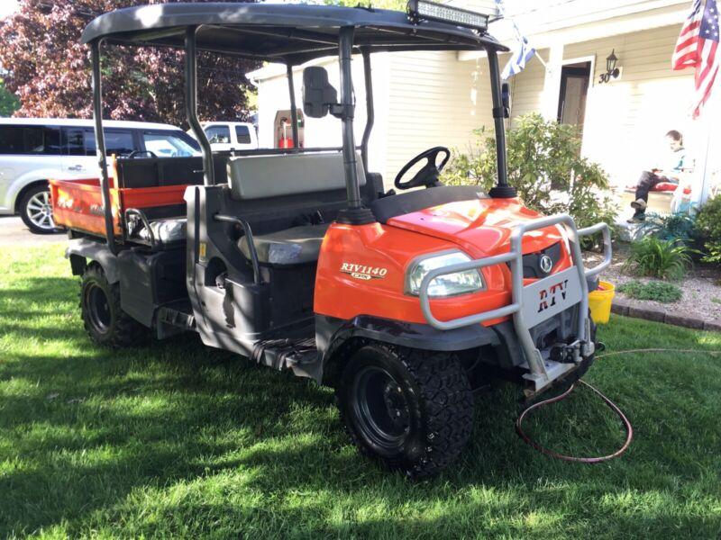 2010 Kubota RTV X1140 Crew 4 Seater Hydraulc Dump UTV Diesel 4X4 Tractor Used