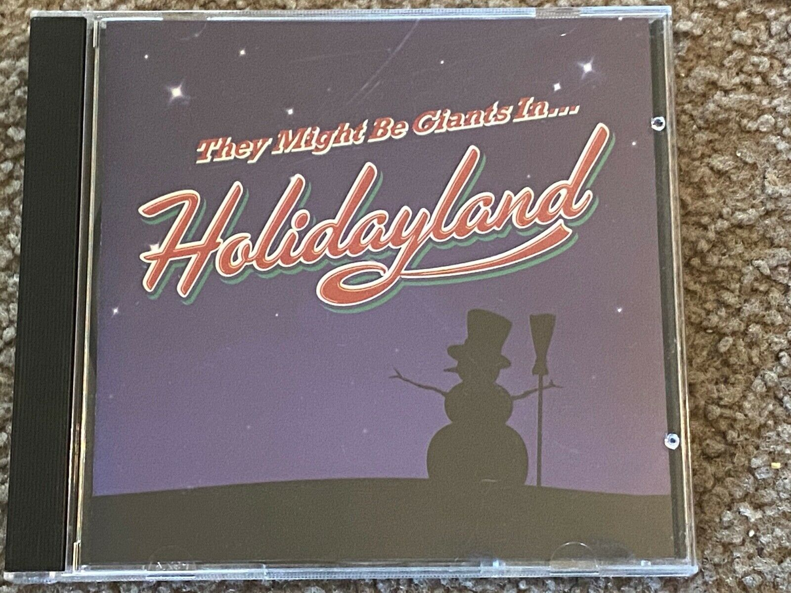 They Might Be Giants Holidayland 2001 Restless Records Little Played - $2.00