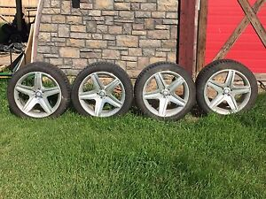 Mercedes GL / ML / G Wagon Rims and Studded Winter Tires