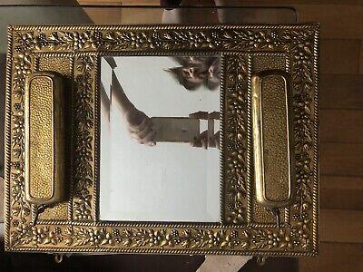 Vintage Gold Wall Hall mirror Vanity Keys