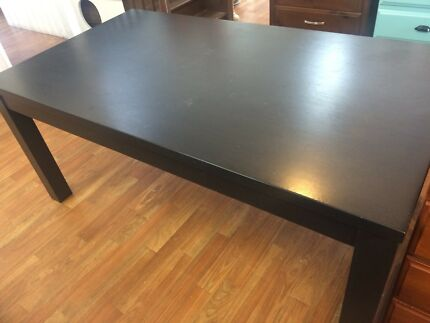 Large Wooden Dining Table Near New