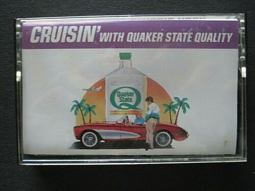 Cassette tape - Quaker State motor oil promotional - classic rock oldies music