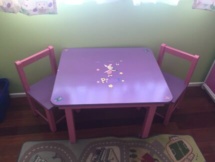 Kids table & chairs Buderim Maroochydore Area Preview