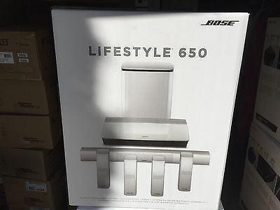 Bose LifeStyle 650 Home Cinema System (White Color) Brand NEW