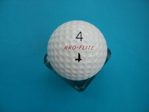 Vintage Spalding Kro-Flite Golf Ball Black Crow Unused 1956