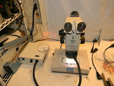 Olympus Szh10 Research Stereo Trinocular Microscope 1x Plan Szh-illd Stand More