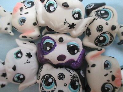 Littlest Pet Shop Lot 2 Random Dalmatian Puppy Dogs Authentic BUY3 GET 1 FREE