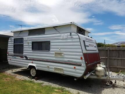Caravan pop top- great condition